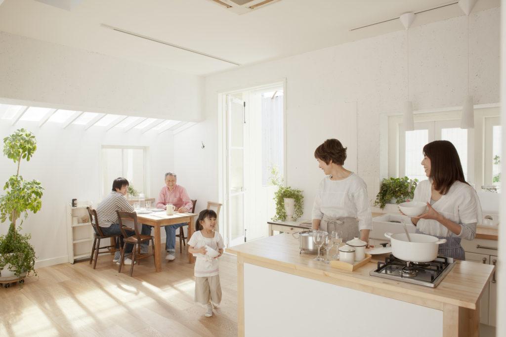 ブログ・家づくり基礎知識 木造住宅の家事導線。