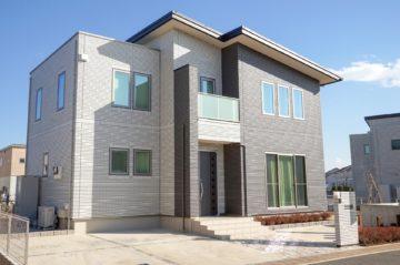 工務店注文住宅シンプルテイストの家 片流れ屋根、相模原市